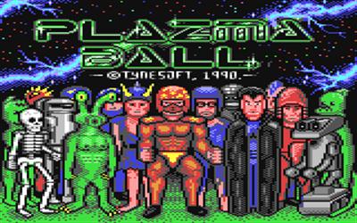 Plazma Ball - Screenshot - Game Title