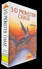 3-D Monster Chase - Box - 3D
