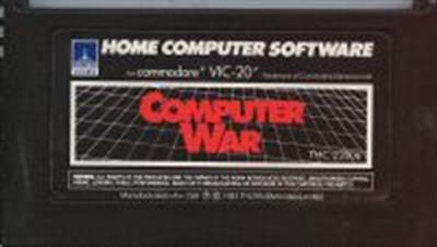 Computer War - Cart - Front