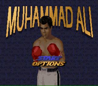 Muhammad Ali Heavyweight  Boxing - Screenshot - Game Title