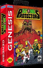Stone Protectors - Box - 3D