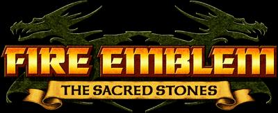 Fire Emblem: The Sacred Stones - Clear Logo