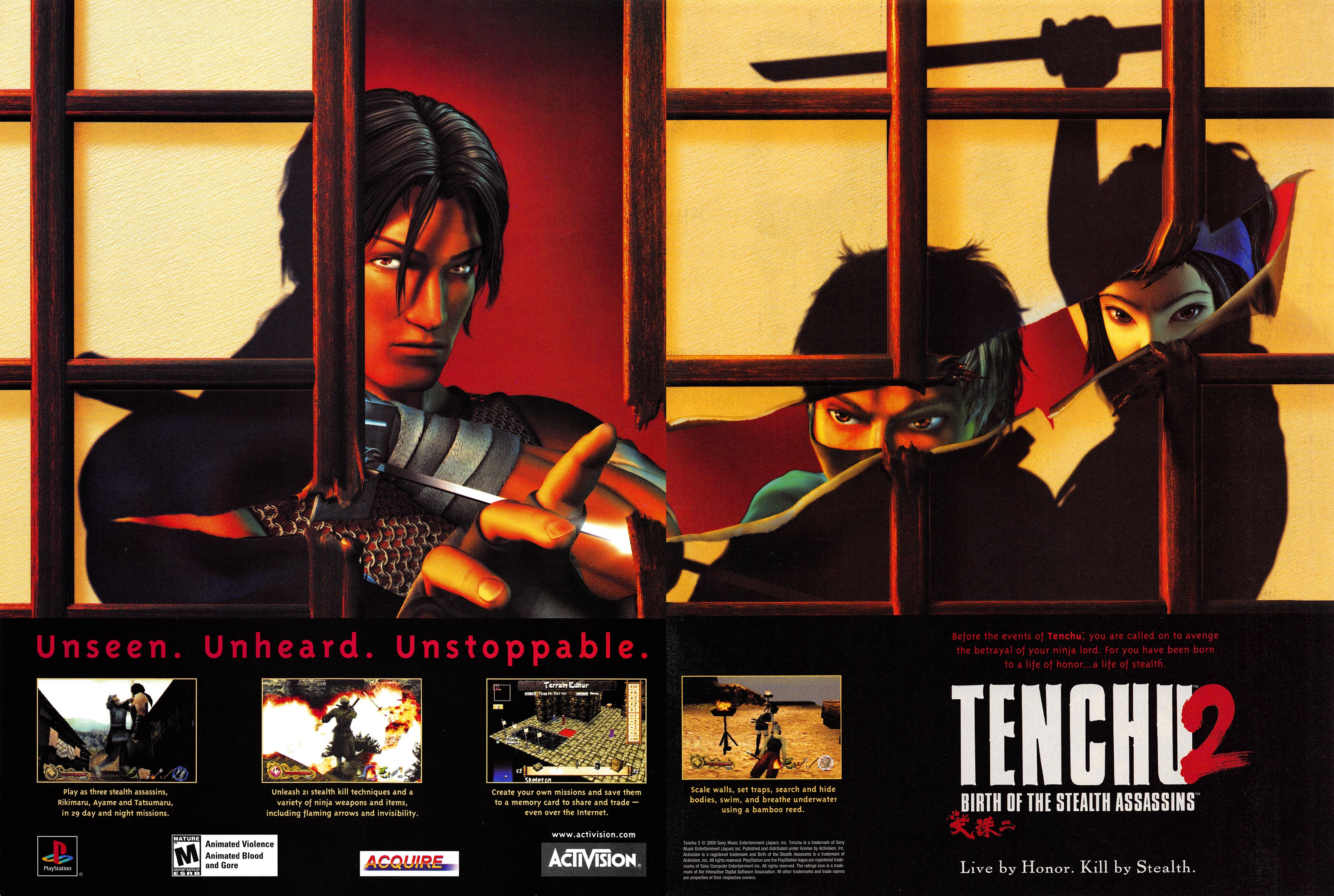 Tenchu 2 Birth Of The Stealth Assassins Details Launchbox Games Database