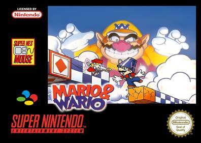 Mario To Wario: Mario & Wario - Fanart - Box - Front