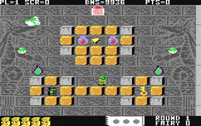 Solomon's Key - Screenshot - Gameplay