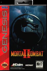 Mortal Kombat II - Box - Front - Reconstructed