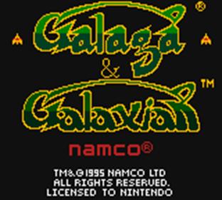 Arcade Classic 3: Galaga/Galaxian - Screenshot - Game Title