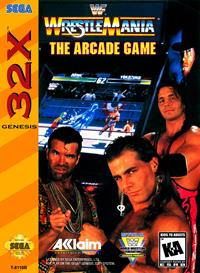 WWF WrestleMania: The Arcade Game - Box - Front - Reconstructed