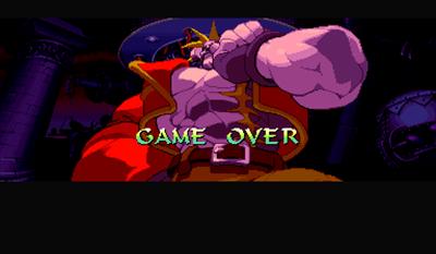 Night Warriors: Darkstalkers' Revenge - Screenshot - Game Over