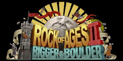 Rock of Ages II: Bigger & Boulder - Clear Logo