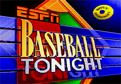 ESPN Baseball Tonight - Screenshot - Game Title