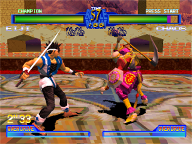 Battle Arena Toshinden 2 - Screenshot - Gameplay