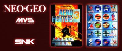 Aero Fighters 3 - Arcade - Marquee