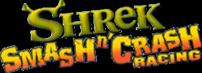 Shrek: Smash n' Crash Racing - Clear Logo