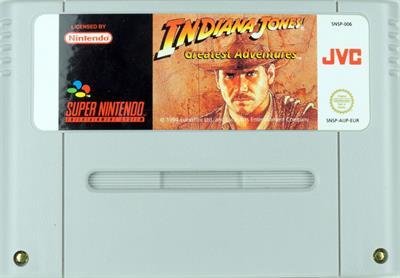 Indiana Jones' Greatest Adventures - Cart - Front