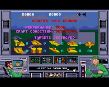 Air Strike USA - Screenshot - Game Over