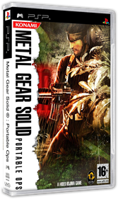 Metal Gear Solid: Portable Ops - Box - 3D