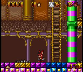 Aero the Acro-Bat - Screenshot - Gameplay