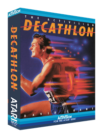 The Activision Decathlon - Box - 3D