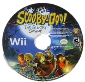 Scooby-Doo! and the Spooky Swamp - Disc