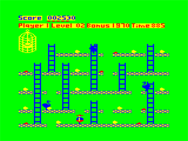 Chuckie Egg - Screenshot - Gameplay