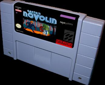 Captain Novolin - Cart - 3D