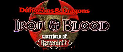 Iron & Blood: Warriors of Ravenloft - Clear Logo