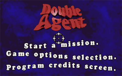 Double Agent - Screenshot - Game Title