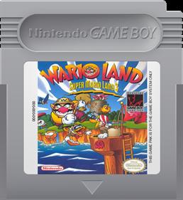Wario Land: Super Mario Land 3 - Fanart - Cart - Front