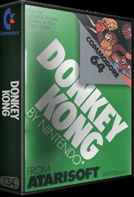 Donkey Kong (Atarisoft) - Box - 3D