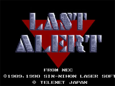 Last Alert - Screenshot - Game Title