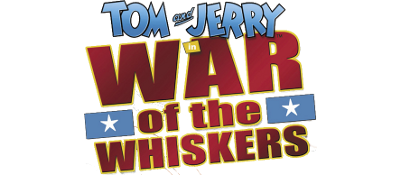 Tom & Jerry in War of the Whiskers - Clear Logo