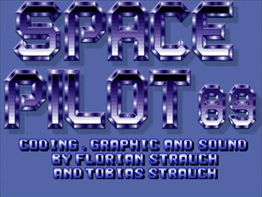 Space Pilot 89  - Screenshot - Game Title