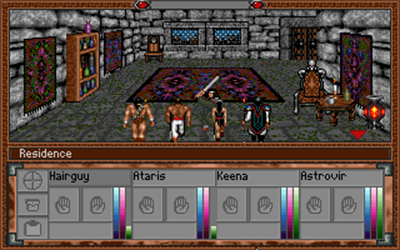 Warriors of Legend - Screenshot - Gameplay