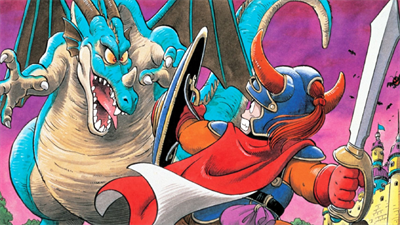 BS Dragon Quest I - Fanart - Background