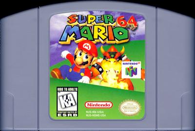 Super Mario 64 - Cart - Front