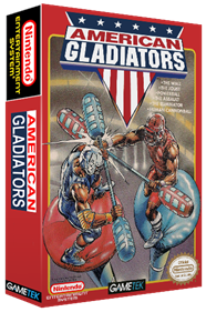 American Gladiators - Box - 3D