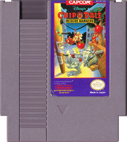 Chip 'N Dale Rescue Rangers - Cart - Front