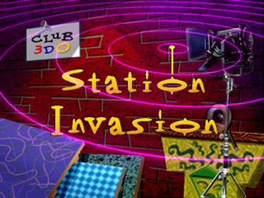 Club 3DO: Station Invasion - Screenshot - Game Title