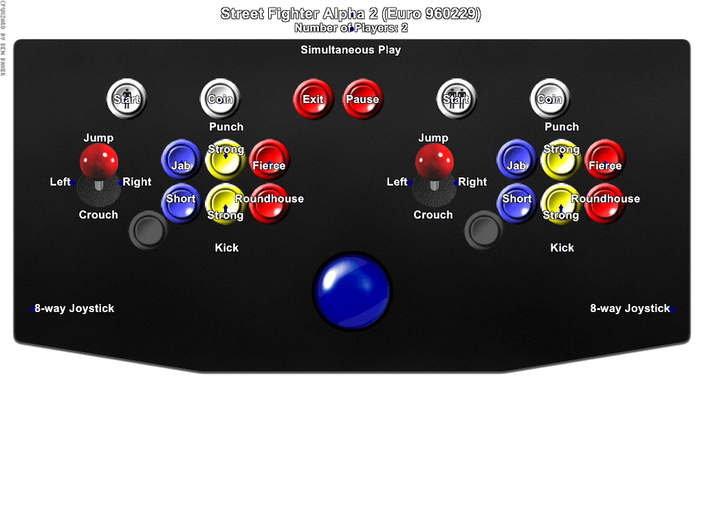 street fighter alpha 2 logo png