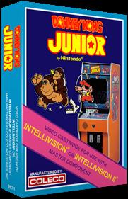 Donkey Kong Junior - Box - 3D