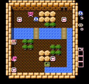 Adventures of Lolo - Screenshot - Gameplay