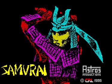 Samurai - Screenshot - Game Title