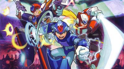 Mega Man X8 - Fanart - Background