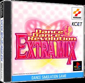 Dance Dance Revolution: Extra Mix - Box - 3D