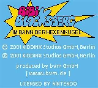 Bibi Blocksberg: Im Bann Der Hexenkugel - Screenshot - Game Title
