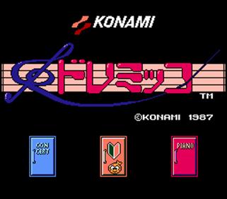 Doremikko - Screenshot - Game Title