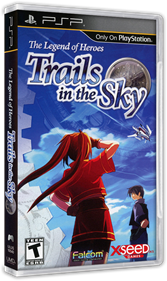 The Legend of Heroes: Trails in the Sky - Box - 3D