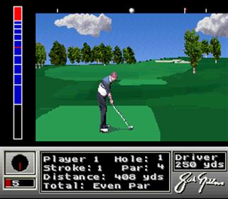 Jack Nicklaus Golf - Screenshot - Gameplay