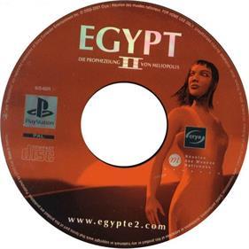 Egypt II: The Heliopolis Prophecy - Disc